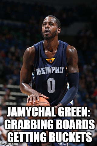 JaMychal Green gets buckets.