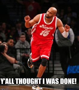 Y'all thought I was done? Vinsanity ain't done yet.