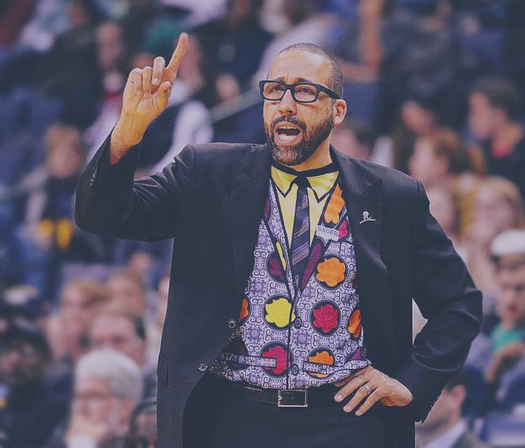 Memphis Grizzlies Head Coach David Fizdale is SagerStrong